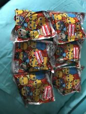 Lot of 6 Simpsons Collectors Keychains Sealed Mystery 3D Monogram 2016