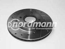 INTERCAR Disco de freno perforado y ranurado para Ford 260 mm