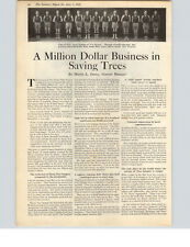 1922 Paper Ad 2 PG Article Davey Tree A Million Dollar Business in Saving Trees