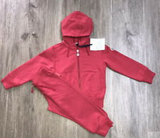 Moncler Girls Pink Tracksuit Age 4 Yrs BNWT