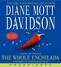 The Whole Enchilada by Diane Mott Davidson (2013, CD, Unabridged)