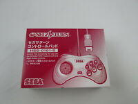 Sega Saturn Controller White with box Japan Ver Segasaturn