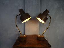 Duo de lampes de bureau Pierre GUARICHE édition Disderot années 1950 design