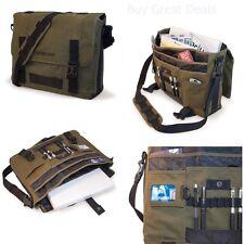 Laptop Canvas Messenger Bag 17.3 Inch Sholder Computer Eco-Friendly Backpack NEW
