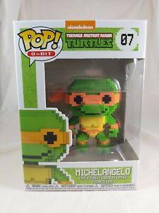 8-Bit Funko Pop - Michelangelo - Teenage Mutant Ninja Turtles - No. 07