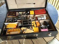 Hasselblad 500El Camera, Lenses, Magazines, Film, Accessories W/Case & Paperwork