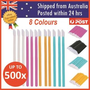 Disposable Lip Brush Lip Wands Gloss Lipstick Applicator Brushes 100/500/1000pcs
