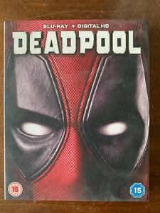 Deadpool Blu-ray 2016 Marvel Universe Superhero Movie w/ Slipcover