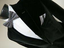 Gorgeous MayFair Richard james Savile Row Velvet smoking dinner jacket 44 R