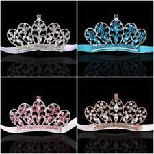 Fashion Baby Girls Princess Crown Crystal Rhinestone Headband Hair Accessories