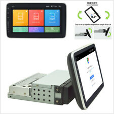 1 DIN Rotatable Car 1080P Touch Screen 10.2'' Stereo Radio BT GPS WiFi OBD DAB