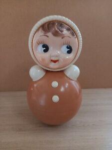 Vintage doll Roly-Poly Nivalashka 40cm 1970-80s USSR.