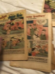 Vintage Comic Book (Without Covers) Lot Wilbur Kaanga Superman Romance