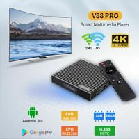V88 PRO Smart TV Box Android 9.0 WIFI Multimedia Player HDR HD 3D Rockchip 3228A
