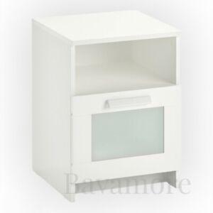 "IKEA BRIMNES Nightstand, white,15 3/8 x 16 1/8 """