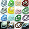 80pcs 8mm Rondelle Faceted Crystal Jade Porcelain Glass Loose Beads Multicolor