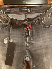 $ 750 NEW KITON JEANS 98% CO 2% EA. SIZE - US-32. EU-48