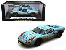 1966 FORD GT40 MK II #1 KEN MILES 1/18 DIECAST CAR BY SHELBY COLLECTIBLES SC405