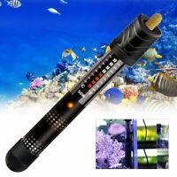 50-500W Aquarium Fish Tank Water Adjustable Submersible Heater  UK A Y