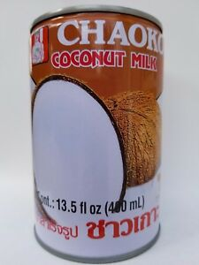 Chaokoh Coconut Milk 13.5 Ounce can (Pack of 5 )