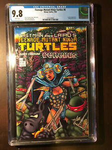 TEENAGE MUTANT NINJA TURTLES #8  CGC 9.8 WP Mirage