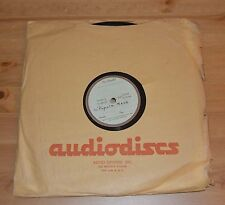 """Vintage custom shellac 78rpm 12"""" record - Concordi Laeticia/Popula Meus"""