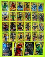 Auswahl Lego Ninjago Serie 3 Karten Trading Card Game Ninja Karten LE 1 - LE 24