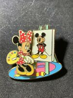 Disney Pin 56572 Painter Series- Minnie Mouse