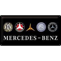 Mercedes Benz Evolution Blechschild Nostalgie Schild 50 cm Neu