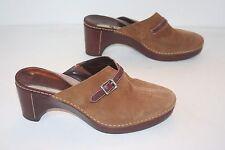 Cole Haan Womens Size 10 B Tan Suede Upper Heels