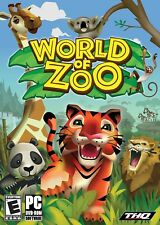World of Zoo - PC Game - Zoo Tycoon Sim - New Sealed