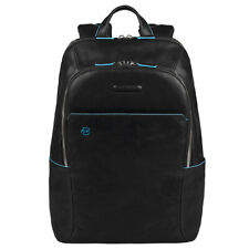 Genuine Piquaddro Computer backpack Blue Square ca3214b2-n