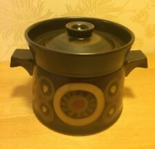 Denby Arabesque / Samarkand 3 Pint Casserole Hot Pot & Lid  Very Good Condition