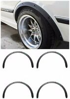 Universal Fender Flares 4 pcs 30 mm 1,18 inches Abs Plastic Shagreen