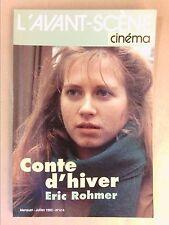 L'AVANT SCENE CINEMA N° 414 / 07/1992 / CONTE D'HIVER / ERIC ROHMER / TB ETAT