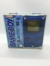 Rare Genuine Nintendo Gameboy DMG - 01 Play it Loud Acrylic Display Case