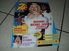 7 EXTRA 91/21 (22/5/91) MADONNA MICHAEL JACKSON BRUEL MICK JAGGER GAINSBOURG (4)