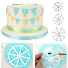Easy Bunting Flag Cutters Cupcake Decoration Tool Sugarcraft Wedding Cake