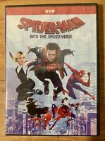 Spider-Man: Into the Spider-Verse DVD (2018) **GREAT DEAL!** **FREE SHIPPING!**
