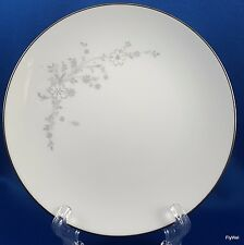 "Noritake Breeze Bread Butter Plate Grey Floral Platinum 6-3/8"" Contemporary 2032"
