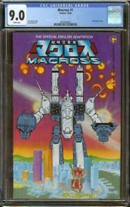 Macross #1 CGC 9.0 (1984 Comico) 1st Robotech