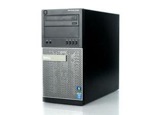 Dell Optiplex 9020 MT Intel Core i7-4790 @ 3.60GHz 8GB RAM 500GB HDD DVD-RW