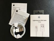 Câble iPhone 5,6,7,8,X - Lightning Garantie 100% ORIGINAL [ Apple Authentique ]