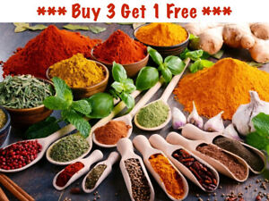 Whole Spices Ground Spices Herbs Seeds Chillies Cooking Kebab Paprika Seasoning