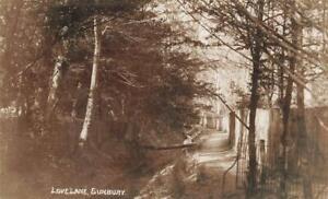 Early SUNBURY Watersplash Road  Middlesex  Photo Postcard