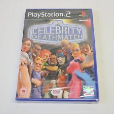 CELEBRITY DEATHMATCH MTV - SONY PS2 PLAYSTATION 2 PSTWO GAME - NEW & SEALED