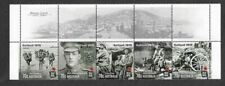 Australia-Gallipoli 1915--World War I-set-Anzac Cove 2015-mnh-military