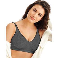 782b26dfcd041 2 Bali Comfort Revolution ComfortFlex Fit Wirefree Bras 3484 XL Gravel Grey  Heather