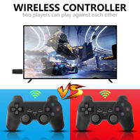 10000+ 4K TV Video Game Stick Console +2 Wireless Controller For GBA N64 CPS PS1