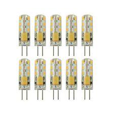 Rayhoo 10pcs G4 LED Bulb Bi-Pin Base Light Lamp 1.5 Watt AC/DC 12V 10-20V Equ...